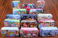 animate images - Classic animated image puzzles Tin wooden puzzles for intellectual development of chil Children s educational toys high qu