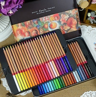 Wholesale Colored Pencils Assorted Color Marco Renior Series Art Pencil for Sketch Non toxic Oiliness Colored Drawing Pencils