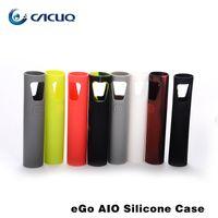 Wholesale Joyetech Ego Aio Colorful Silicon Case Cover for Joyetech Ego Aio Silicone Case Protective Cover DHL Free