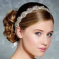 beautiful figure women - European High grade Imitation Diamond Crystal Bridal Hair Accessories For Women With A Beautiful Headdress Bride Jewelry Wholesa