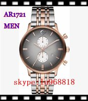 Wholesale TOP QUALITY BEST PRICE NEW Lovers Quartz Movement WristWatch AR1721 AR1725 Watch Original Box
