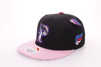 Casquillo ocasional de los sombreros de la danza de la calle de la gorra de béisbol de los sombreros de vaquero del estilo de Europa del sombrero caliente del salto de la cadera de los sombreros de la venta caliente del verano