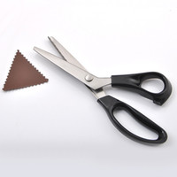 Wholesale High Quality Pinking Shears Scissors Sewing Fabric Leather Craft Dressmaking Upholstery Tailor for Zig Zag Tool