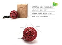Wholesale 5pcs a bag Creative hollow office computer USB fan inch mini lovely quiet fan a small desktop fan spherical simple fan