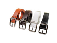Wholesale Retail pc hot quanlity korea brief genuine cowhide leather men and women business needle buckle fashion wide belt