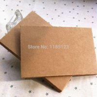 Wholesale mm postcard photos packing case kraft boxes for gift packagingCustom Logo cost Extra Packaging Boxes