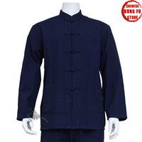 Wholesale High Quality Cotton Kung fu Jacket for Wing Chun Suit Tai chi Martial arts Uniforms
