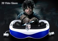 audio cinema - VR Wearing Smart D Video Glasses For Android And IOS Multimedia Audio And Video Glasses Wireless Music Networked HD Mobile Cinema