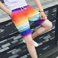 Wholesale New arrivals men board shorts loose colorful quick drying men beach shorts flower print shorts bermuda masculina CC074