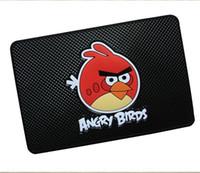 Wholesale Car mat automotive cartoon angry birds stop slippery mat vehicle mounted mobile navigation mat auto supplies Anti Slip Mat Non Slip