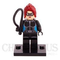 batman catwoman - Catwoman Selina Kyle Suicide Squad Batman Joker DC Super Heroes Minifigures Assemble Building Blocks Kids Learning Toys