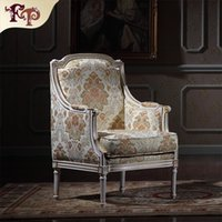 baroque chairs - Royalty Classicliving room furniture Baroque Style classic armchiar European palace furniture Versailles one person chair