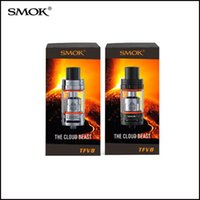 Wholesale IN STOCK Smok TFV8 Tank Cloud Beast Atomizer ml Full Kit Topfilling vape tank With V8 T8 V8 Q4 Coil Head Best Updated TFV4 Tank High Clone