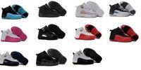 sneakers shoes basketball retro - Sale China Jordan Shoes Basketball Sneakers Kids Taxi Playoffs Gamma Blue Grey Sports China Jordan Shoes Retro XII Replicas
