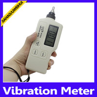 Wholesale New Arrival Portable Vibration Meter Machines Vibration Meter free sihipping