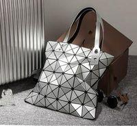 Wholesale 2016 New Fashion Portable Women Bag with Geometry Diamond Lattice