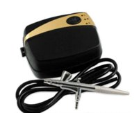 air compressor systems - Portable Make Up Airbrush System Mini Air Compressor Speed Air Brush Kit brush kit kit brush