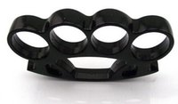 Wholesale Brand New knuckles Brass Knuckles Duster FAT BOY RENEGADE THICK BLACK BRASS KNUCKLE DUSTERS handcuffs