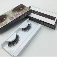 Wholesale New Pair Huda Beauty False Eyelashes Messy Cross Thick Natural Fake Eye Lashes Professional Makeup Beauty