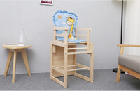 Wholesale Multifunctional baby baby dining chair wood highchairs multifunctional baby chair dining chair