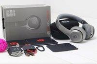 Wholesale High Quality Refurbished Beats Solo2 Wireless Royal Edition Dark grey Bluetooth Headphones With Sealed Retail Box Beats Studio2 Wireless