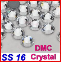 Wholesale Promotion SS16 Bag Clear Crystal DMC HotFix FlatBack Rhinestones strass DIY iron glass Hot Fix crystal stones glitters