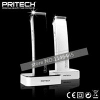 Wholesale Hot NEW PRITECH Brand Professional Hair Clipper Rechargeable Hair Trimmer Face Care Styling Tools Man Family Use