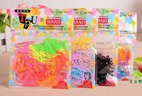 Wholesale New Arrive pack Rubber Rope Ponytail Holder Elastic Hair Bands Ties Braids Plaits hair clip headband Hair Accessories