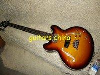 La guitarra de encargo del OEM de la guitarra baja del resplandor solar de la tienda de la guitarra baja de la secuencia de la aduana 4 libera el envío