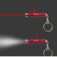 backpacking gifts - DHL Fedex Shipping Promotion Gift Signal for Help Outdoor Gadgets Mini LED Light Laser Keychain Survival Tools Pieces
