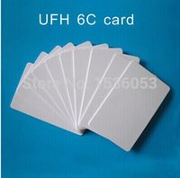 automated parking - RFID Proximity long distance Gen2 C UHF card tag for Automated Parking Management Mhz with long read distance