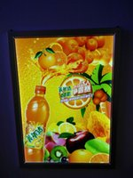 Wholesale LED signs snap frame alloy aluminum led light box A4 single sided poster frame sign