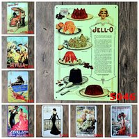 Wholesale Vintage Metal Painting quot Spanish style quot Tin Signs Wall Painting Art Wall Stickers Crafts Cafe Bar Bar Home Decoration x30 CM