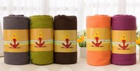 Wholesale Microfiber pvc Disu silicone yoga shop towels yoga mat towel super soft non slip tpe fitness supplies
