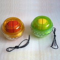 Wholesale New Gyro Wrist Arm Muscle Forcer Power Exerciser Massage Ball Trainer Fitness Equipment