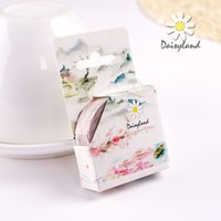 beauty album - daisyland tape and antique decoration diary account album land of idyllic beauty hand shredded paper