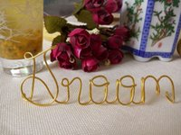 Wholesale Wedding party seating guest name Wedding Place card alternative Place setting Wedding party seating guest names Home Decor Hanging Name Sign