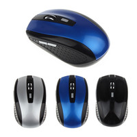 Wholesale 2016 New Arrival Mouse Sem Fio Portable Ghz Wireless Optical Gaming Mouse Gamer Mice For PC Laptop Pro Gamer LYY0933