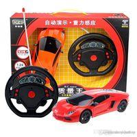 accelerometer model - Mini steering wheel accelerometer remote control lighting four way toy model sports carTo report