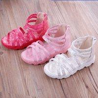 Wholesale Children s shoes girls sandals summer new girl beach shoes sandals Roman shoes princess girl