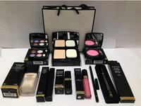Wholesale New Sets Makeup Eye Shadow Eyeliner Mascara Lipstick Lip Gloss Blush Foundation Powder Brand Channel