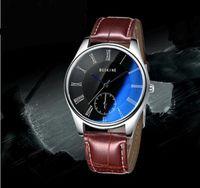 automatic table - Simple quartz watch male watch men s casual blue calendar male table belt couple watch
