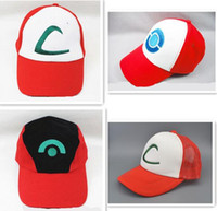 hat factory - Factory sales Pocket Monster Baseball caps Snapback Sales Popular Summer sports Golf Pikachu ELF Hats Poke MonGo ball caps Caps