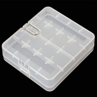 Wholesale Portable Hard Plastic Battery Case Holder Storage Case Box for x Batteries with Hook Holder