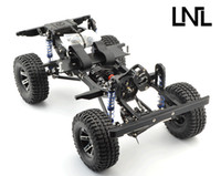 Wholesale LNL quot RC Crawler Alloy Chassis V2 D90 SCX10 Tamiya Land Rover RC WD DW255