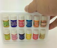 Wholesale 12pcs Pure Lavender Sandalwood Essential Oils Pack for Aromatherapy Spa Massage Bath