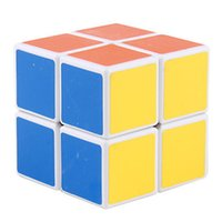 Wholesale PC Speed Magic Puzzle Cube Cyclone Boys x2 X2X2 Stickerless magic puzzles toys for children education toys S17