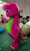 barney birthday - 2016 Best price New Barney Mascot Costume Halloween Christmas Birthday Props Costumes For Adult Kids Factory direct