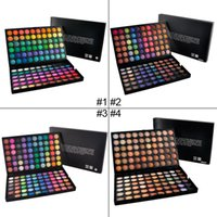 Wholesale 120colors Eye Shadow Nake Professional Makeup Eyeshadow Palette Color maquiagem Make up Set Matte Shimmer Eyeshadow Powder