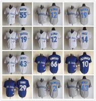 baseball uniforms - Cheap Baseball Jerseys Toronto Blue Jays Original Baseball Uniform martin alomar bautista Cool Base Jerseys with